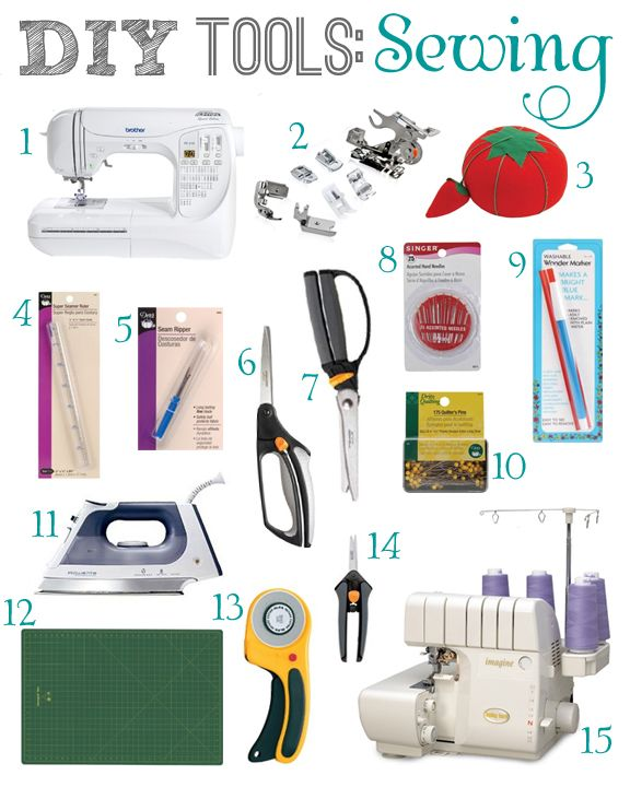 Diy Tools Sewing With Images Sewing Sewing Essentials