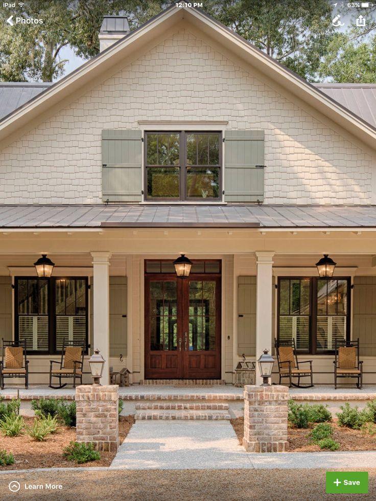 Front Porch Addition Farmhouse Front Porches House: House Paint Exterior, House Exterior, Exterior
