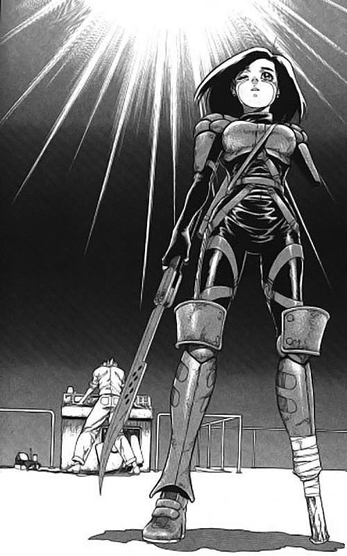 The Jump Gate Battle Angel Alita Alita Battle Angel Manga Battle Angel Alita Anime