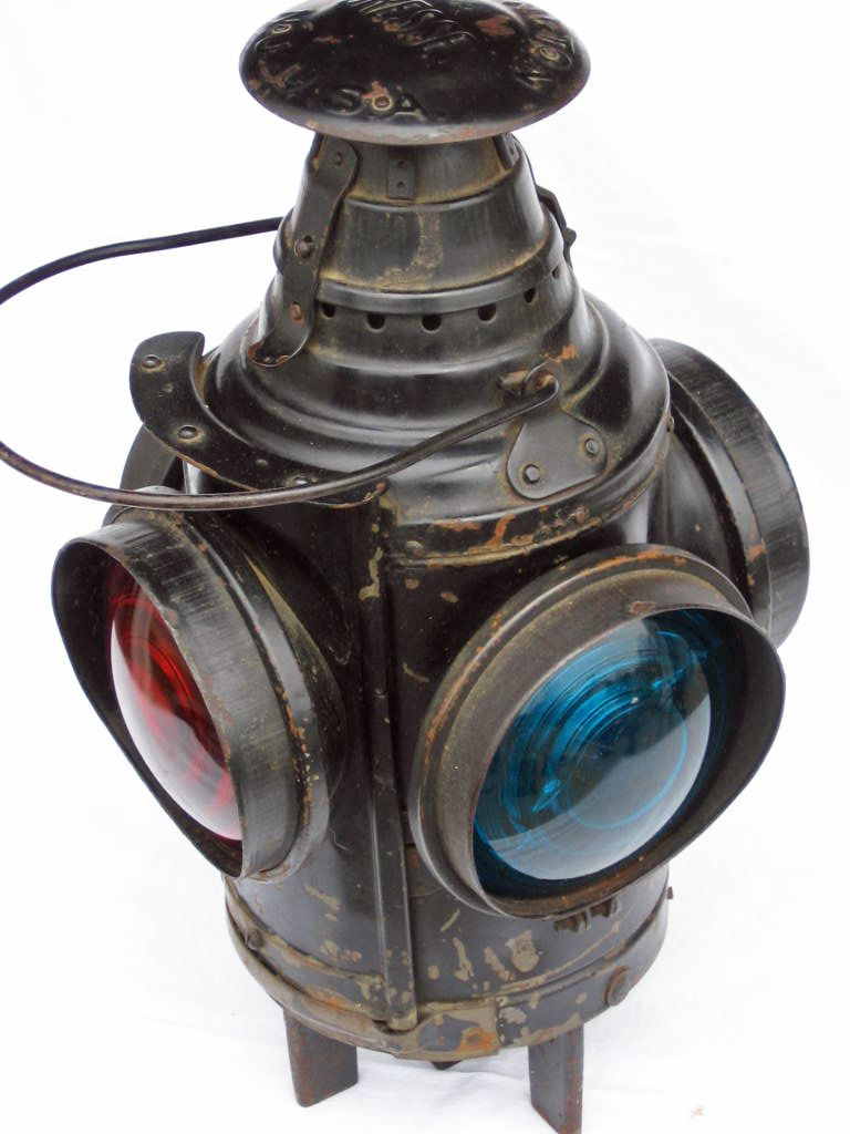 Always Looking For These Railroad Lamp Railroad Lanterns Lantern Candle Holders