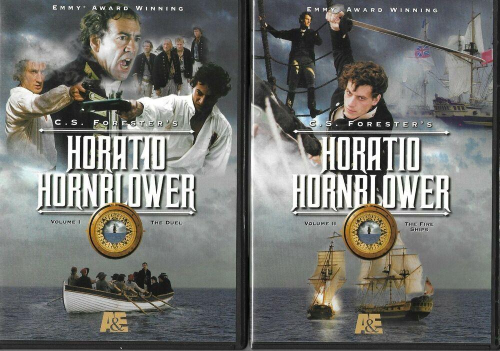 Horatio Hornblower Volume 1 2 The Duel The Fire Ship Dvd A E
