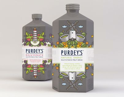 Repackage Purdey's Rejuvenate and extend its range to include one new product – Purdey's Natural Energy.