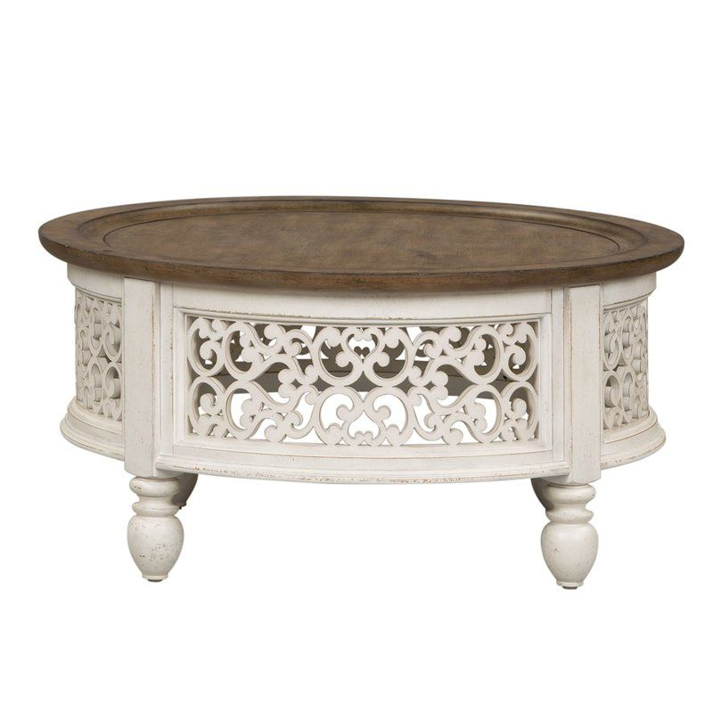 Gandy Coffee Table Liberty Furniture Round Cocktail Tables Coffee Table