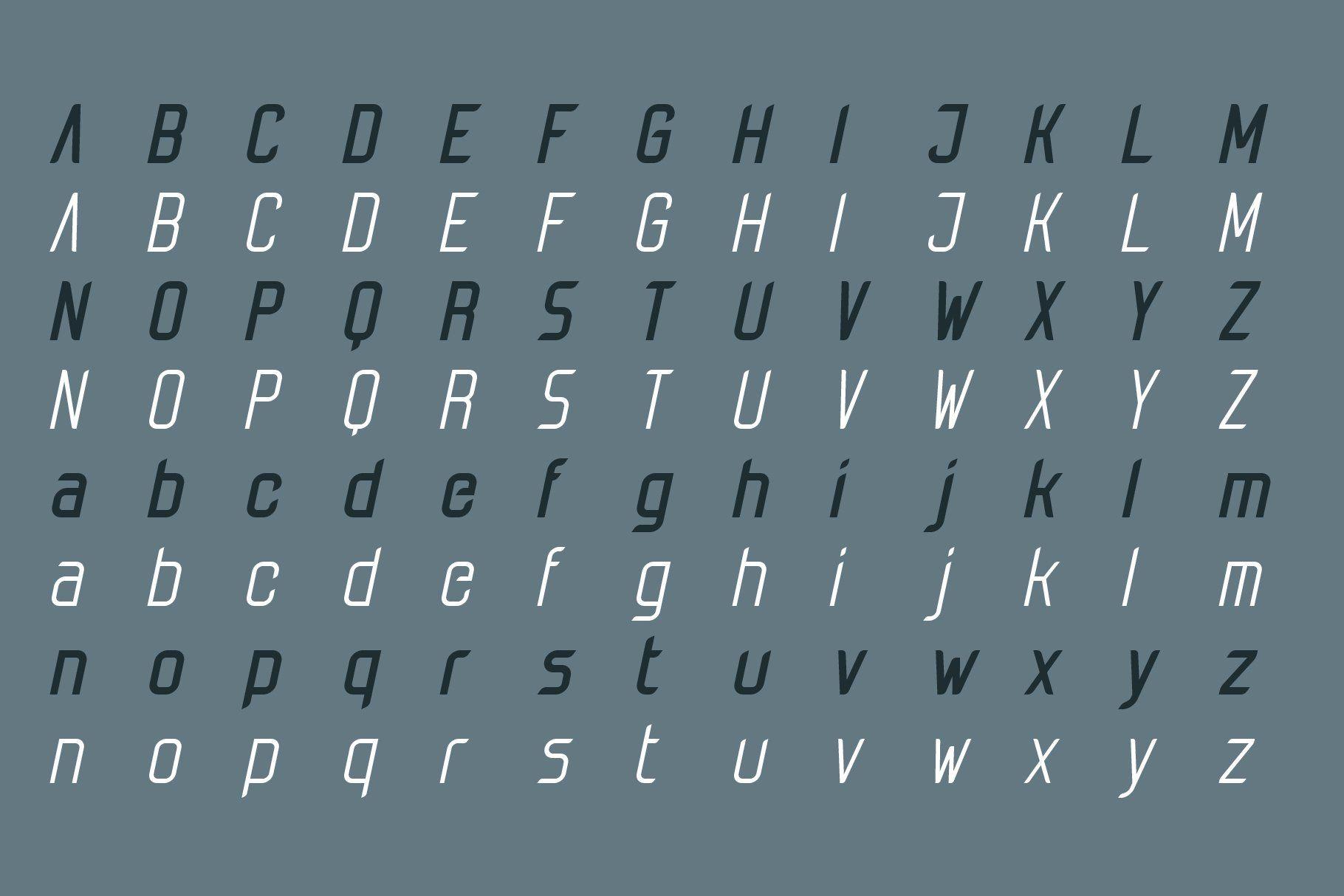 Tachyon Font - Condensed Sans Serif Font#Condensed#Tachyon