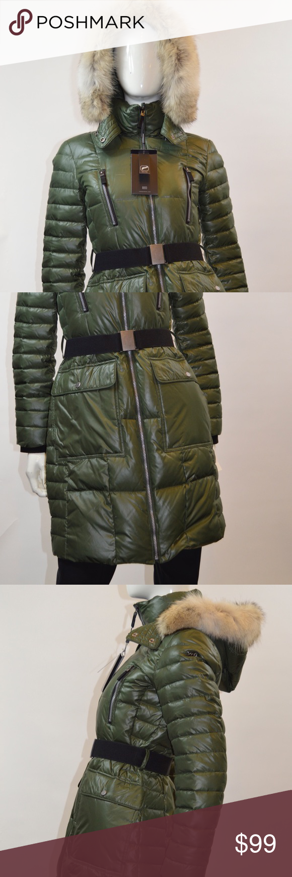 Andrew Marc Down Coat Adrianne MSRP $379 Andrew Marc Down Coat Adrianne MSRP $379 Coyote Fur Hood Andrew Marc Jackets & Coats Puffers