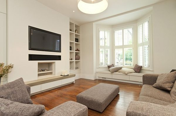 Seating For Bay Window how to utilize the bay window space | window, spaces and living rooms