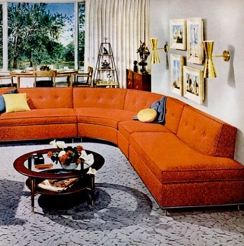 Pin By Fred Bloss On Wohnzimmer Retro Mid Century Modern Living Room Mid Century Living Room Mid Century Living