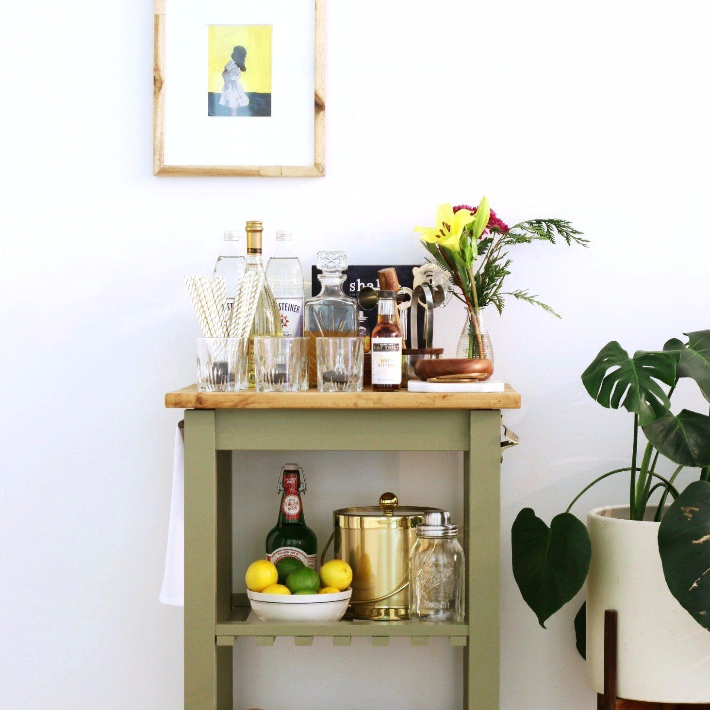 Image result for IKEA BEKVÄM kitchen trolley hacks | house ideas ...