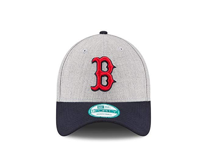 promo code c6bfd b0199 ... classic 39thirty cap 7bbbc 0be07  spain new era mlb boston red sox the  league heather 9forty adjustable cap one size heather