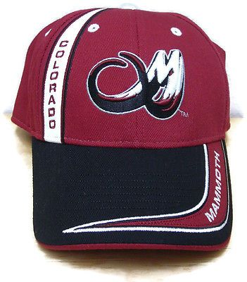 Colorado-Mammoth-National-Lacrosse-League-Ballcap-Hat-Cap-Adjustable-Strap aad534ab8a6