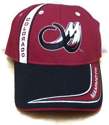 Colorado-Mammoth-National-Lacrosse-League-Ballcap-Hat-Cap-Adjustable-Strap aad534ab8a6