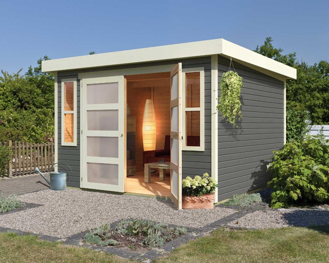 Abri de jardin 6.15m² en bois massif - Tek Import : www.tekimport.fr ...