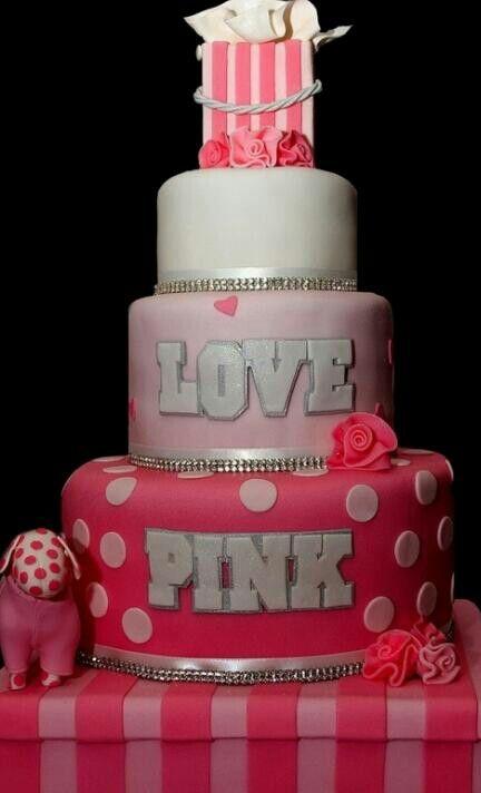 Victoria Secret cake <3