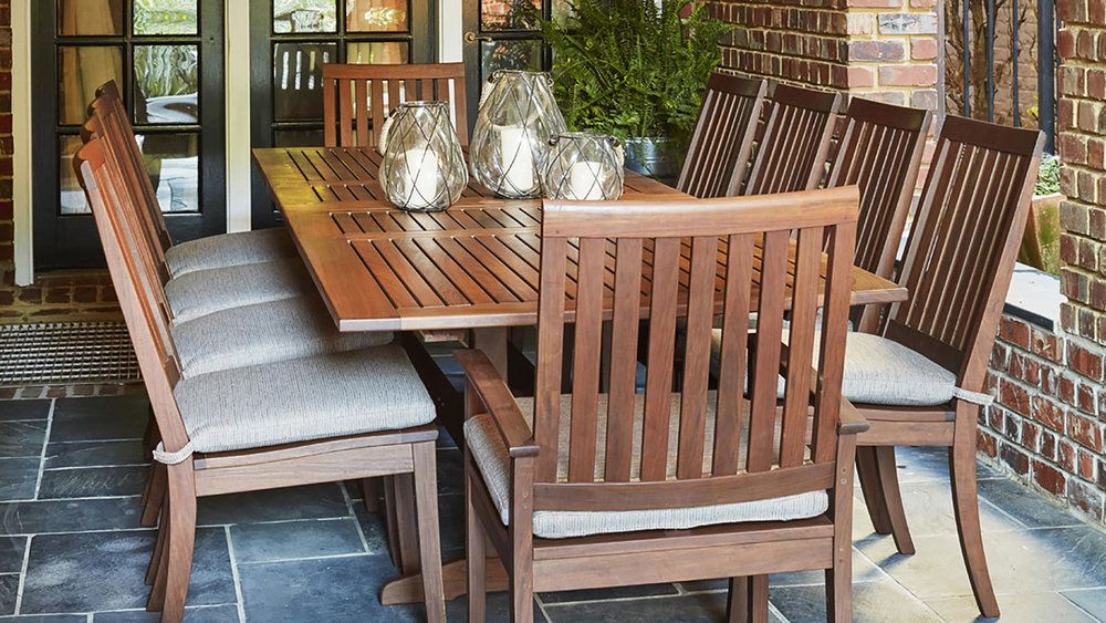 Wood Teak Patio Furniture From Jensen Leisure Available At Oregon S Largest Showroom Of