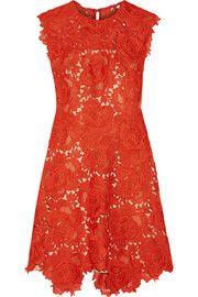 Catherine DeaneElina guipure lace mini dress