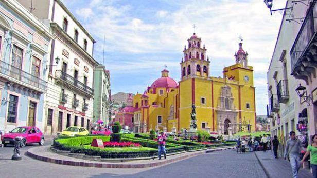 Guanajuato m xico in for 7 jardines guanajuato