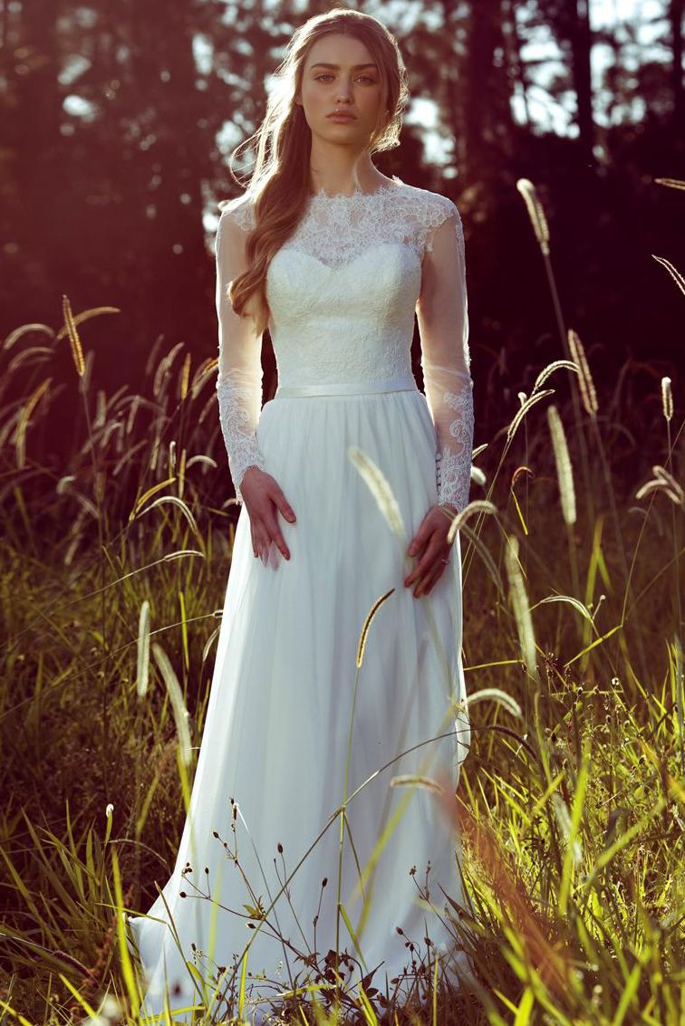 39b7db276b48 Fall Wedding Dresses, Designer Wedding Dresses, Bridal Dresses, Wedding  Dress Chiffon, Wedding