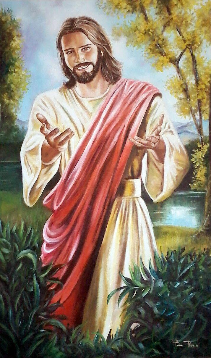 Fatimska Maria S Vtacikmi   Pintura De Jesus, Imagens De