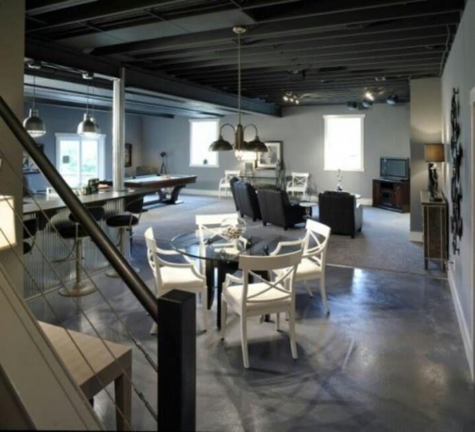 7 foot ceiling basement ideasjpg 691628 - 7 Foot Basement Ceiling