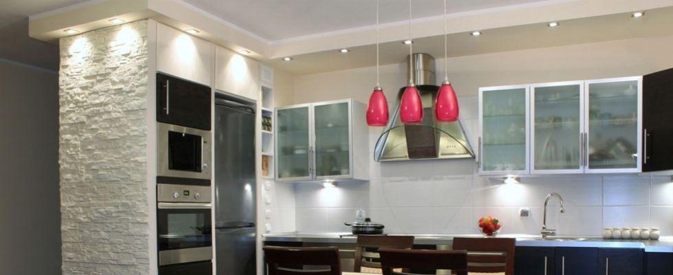 Risultati immagini per cartongesso cucina faretti | cartongesso ...