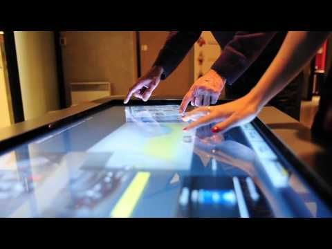 Table Tactile Multitouch Youtube Table Tactile Tablette Tactile Tablette