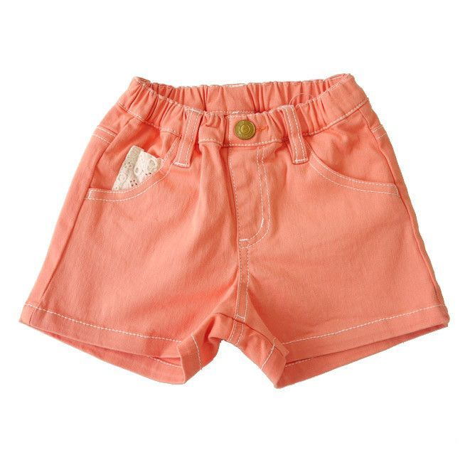 HEART SHAPED POCKET SHORTS