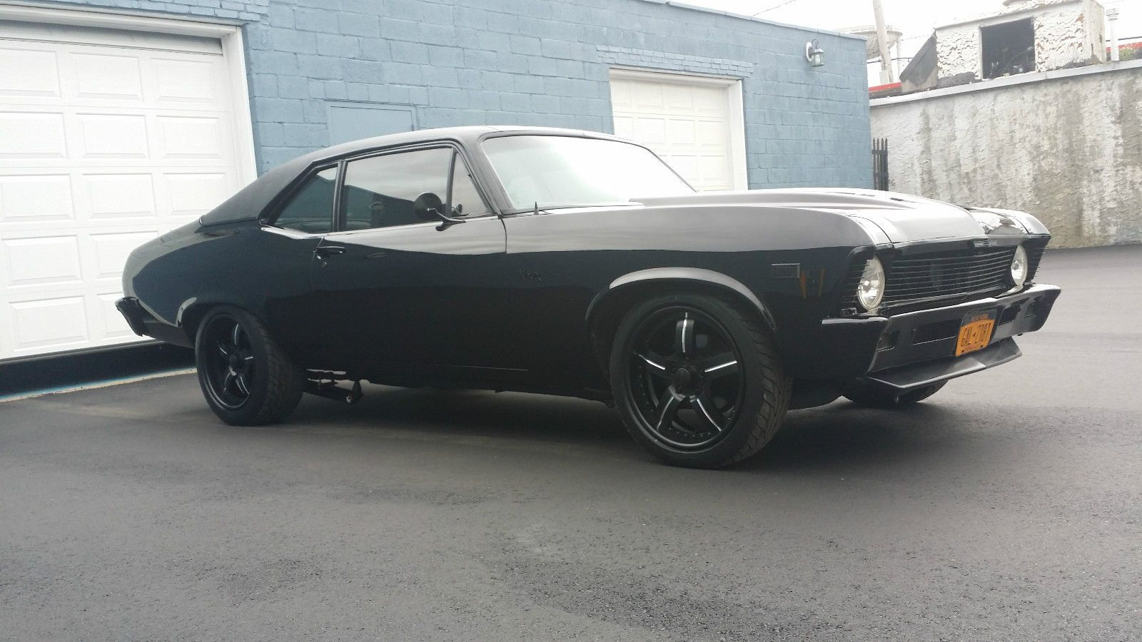 All Chevy black chevy nova : A 1969 Chevy Nova with Murdered out Pro Touring Treatment | Chevy ...