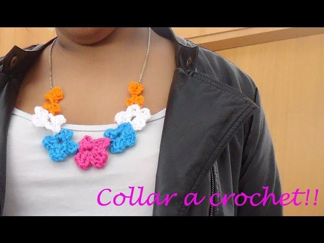 *Como hacer un Collar a crochet*
