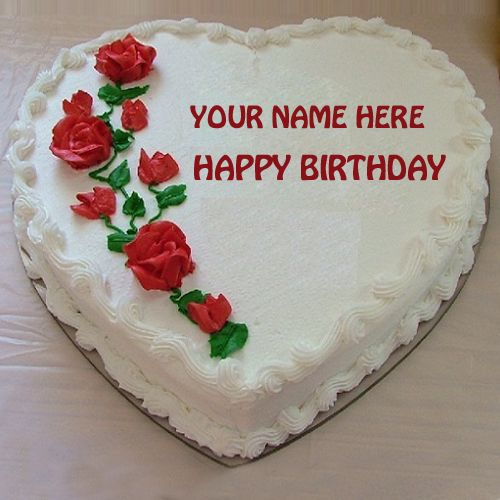 Happy Birthday Dear Mother Cake With Your NamePrint Mother Name on