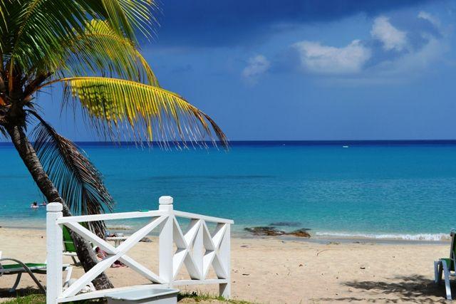 White sandy beach = paradise St. Croix, USVI - taken by AMSorell