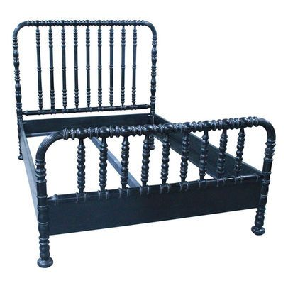Navy Jenny Lind Bed Black Bedding Traditional Bed Bed Furniture