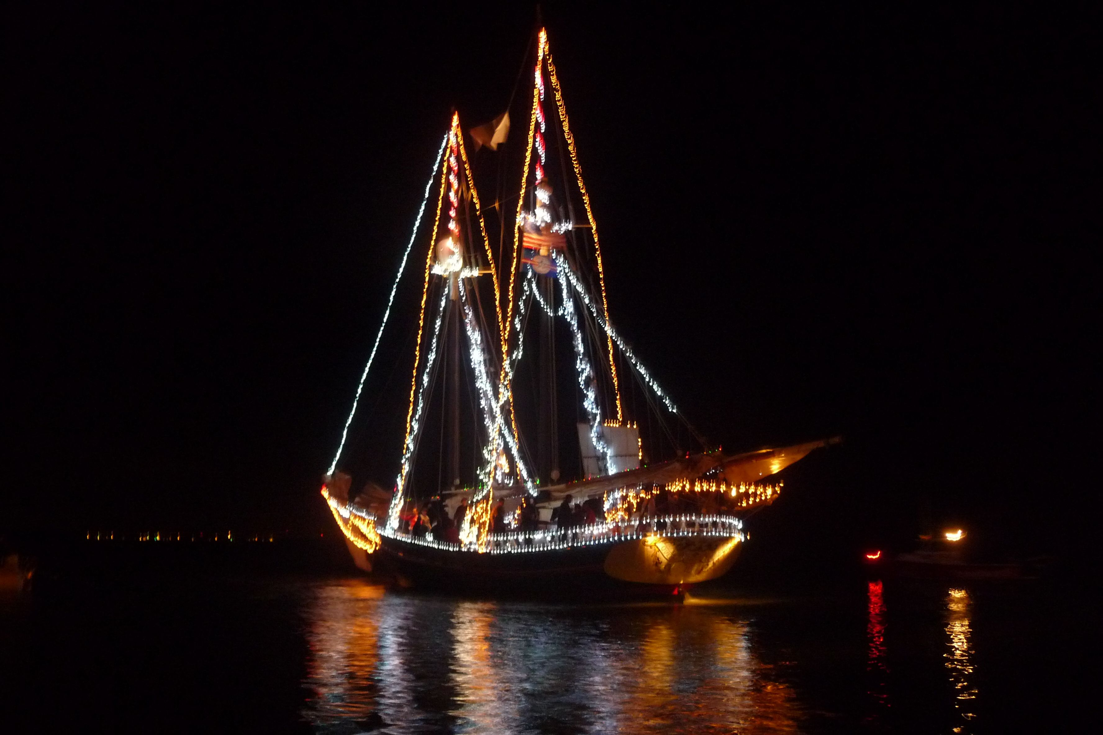 Christmas Boat Greece.Christmas Boat Parade Ft Lauderdale Florida Cool Places I