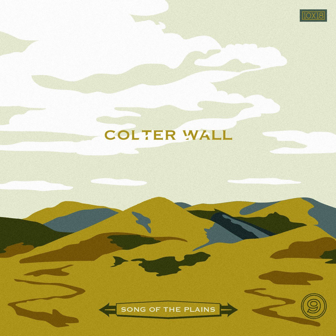 day 9 10x18 wall songs west art illustrations posters on colter wall id=34648