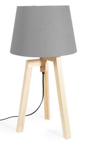 lampe trépied », maisons du monde | luminaire : lampe à poser