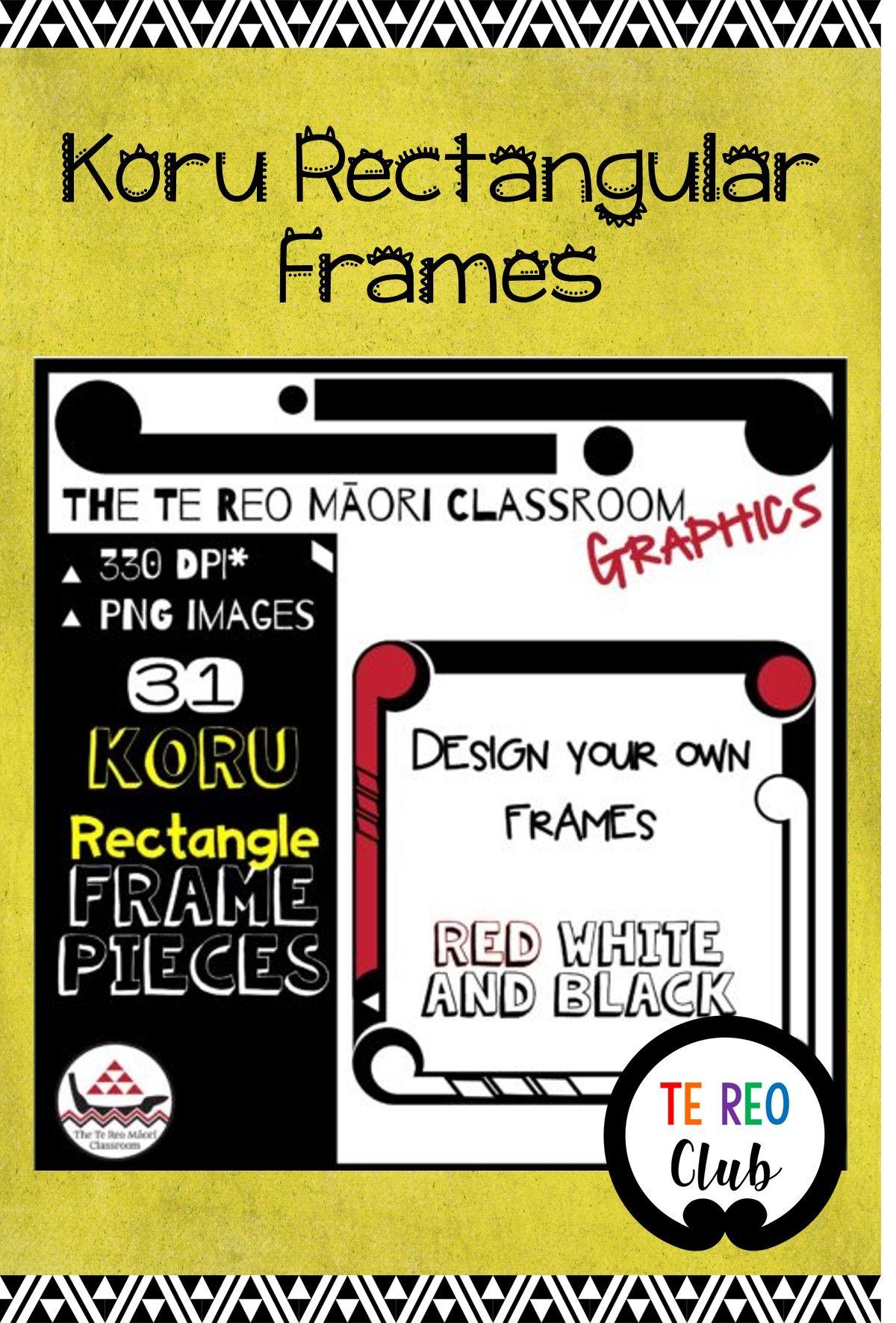 Diy Koru Rectangular Frames In