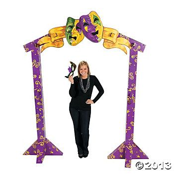 3D Bourbon Street Archway, Stand-Ups, Party Decorations, Party Themes & Events - Oriental Trading