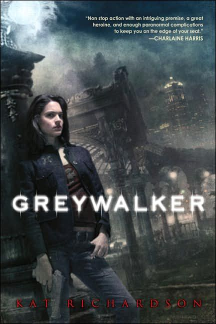 Greywalker,Poltergeist,Underground, Vanished,Labyrinth & Downpour follow Seattle P.I. Harper Blaine. Killed while on a case,she was dead for only two minutes before being  brought back by medical intervention. Now she can recognize witches, vampires,see ghosts & the rest of the supernatural world.Harper discovers that her brief death has turned her into a Greywalker, a human able to move back and forth at will through the Grey, the realm that exists between our world & the next.