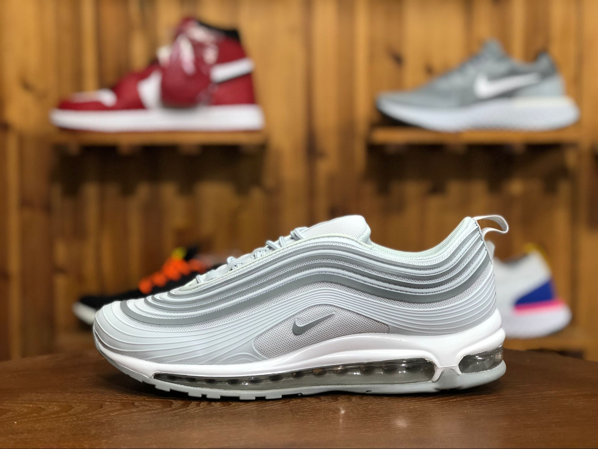Nike Air Max 97 Ultra '17 Silver Iridescent On Sale
