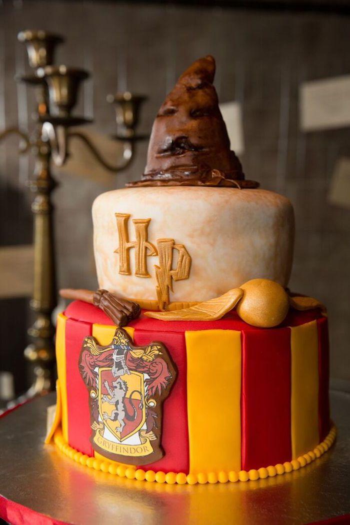 Hogwarts Harry Potter Birthday Party Harry Potter Birthday Cake