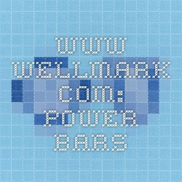 www.wellmark.com: Power bars