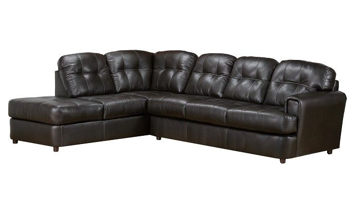 Rugby Collection Charcoal Large Sectional Phug555 Home