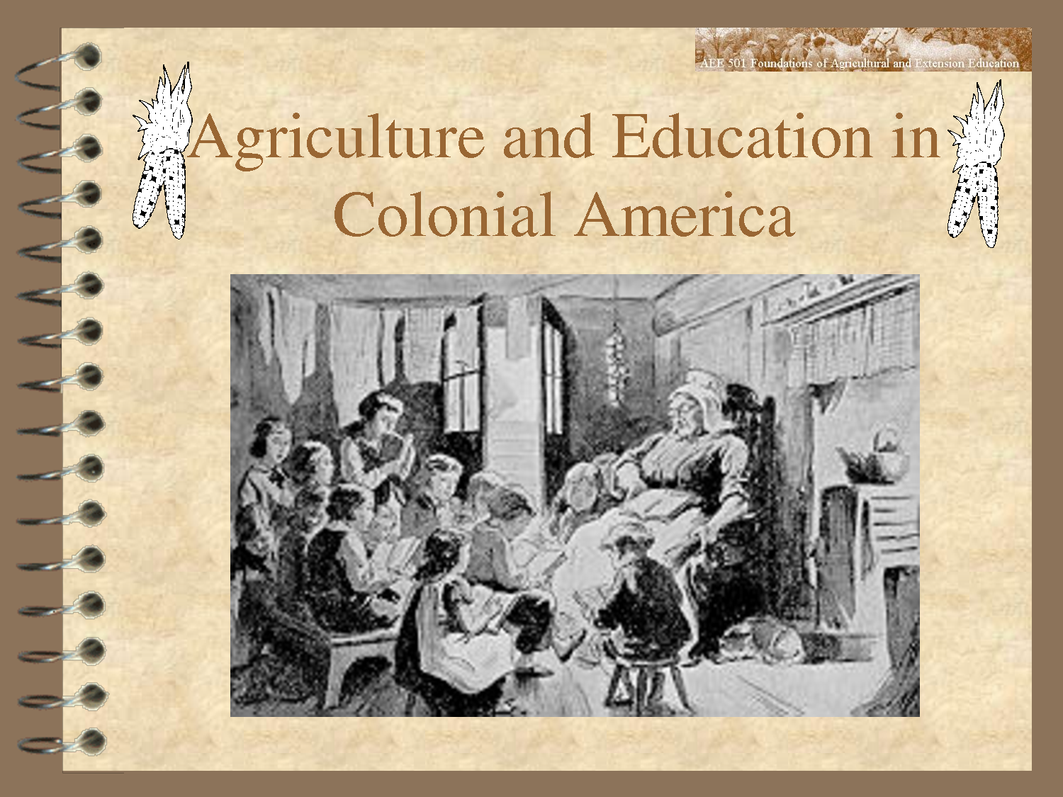 Colonial Education | Agriculture and Education in Colonial America