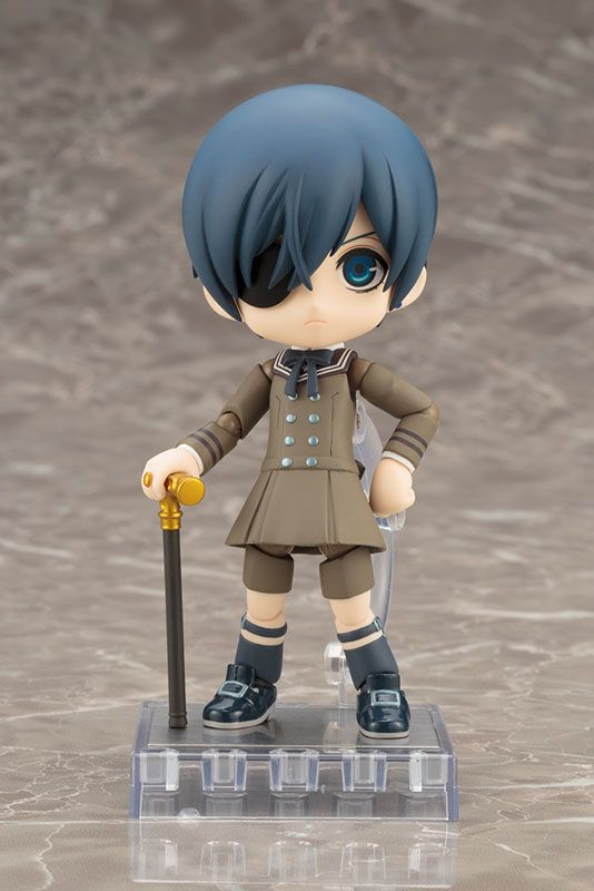 AmiAmi [Character & Hobby Shop] | Cu-poche - Black Butler: Book of the Atlantic: Ciel Phantomhive Posable Figure(Pre-order)