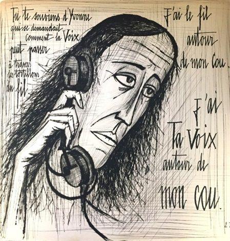 la voix humaine 1947 portfolio w 21 works by bernard buffet rh pinterest com