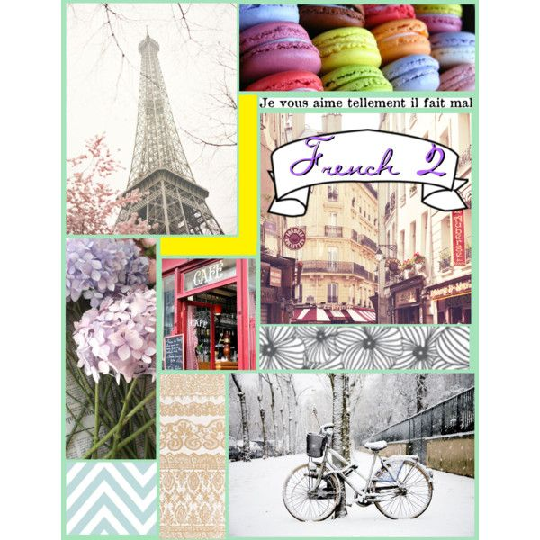 {French 2 Binder Cover}