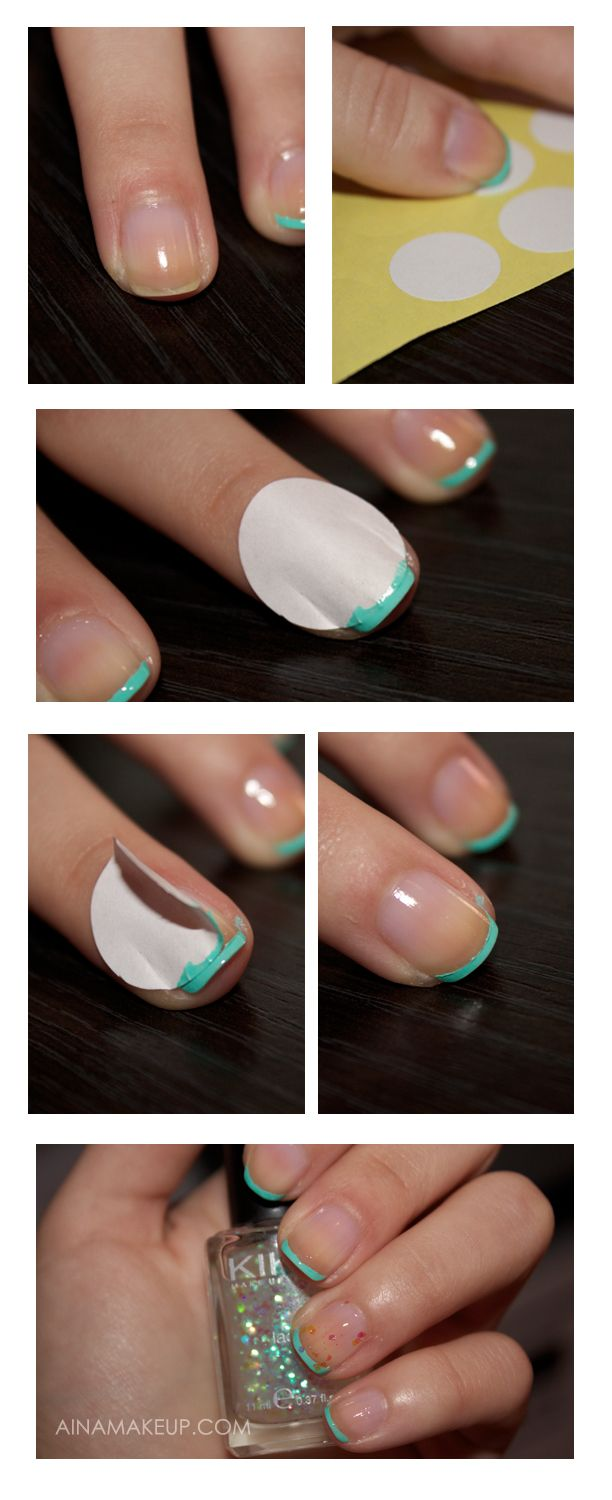 Nail tutorial by AinaMakeup it is in Spanish but by the pictures it ...