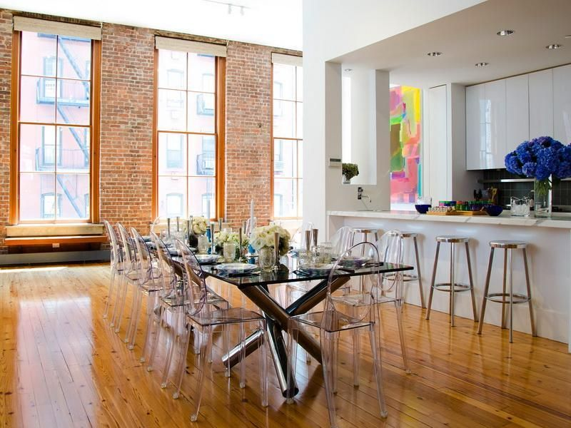 Exceptional Room · Perfect Ghost Chairs Dining Room
