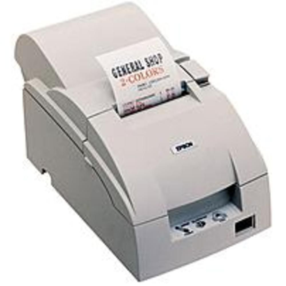 B Epson C31C515603 TM-U220D POS Receipt Printer - Two-color - Dot