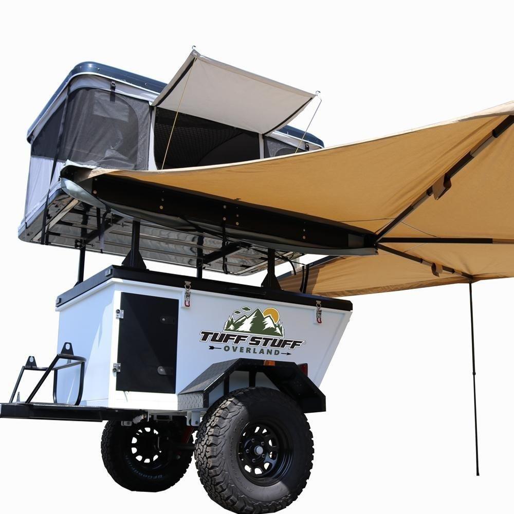 Tuff Stuff® SIERRA Pop Up Roof Top Tent, Black, 2 Person