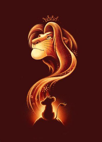 The New King Art Print Konig Der Lowen Der Konig Der Lowen Disney Konig Der Lowen